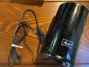メリタ 電動コーヒーミル ECG62-1B (ブラック)