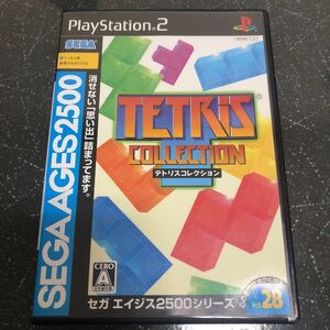 【ケース以外比較的美品】テトリスコレクション PS2 【1418】