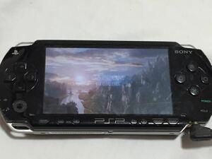 PSP-1000 ブラック 本体のみ 動作確認済 バッテリー付き