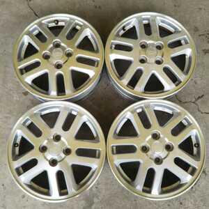 ダイハツ純正アルミホイール4本セット 15×4.5J ET45 PCD100 4穴 ハブ径54mm ムーヴコンテ、ミラ、タント等軽自動車全般