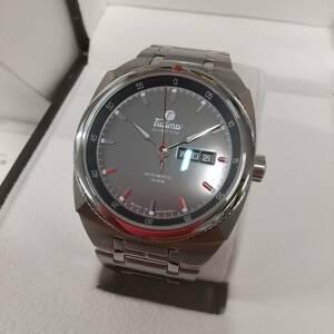 最終値下げ【未使用特価】TUTIMA チュチマ SAXON ザクセン 6120-01 メンズ 腕時計 デイデイト 定価¥418,000- メーカー保証2年付き!!