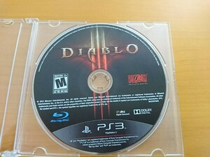 PS3  海外版 ディアブロ  DIABLO