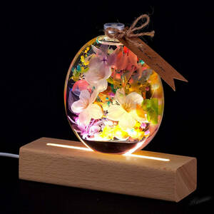 ◆間接照明と合わせると素敵◆ さくら ハーバリウム プリザーブドフラワー インテリアフラワー 花 生花 植物標本 贈り物 プレゼント