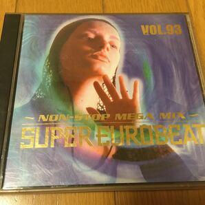 ネコポス送料無料☆匿名発送☆2CD☆super Eurobeat vol.93☆スーパーユーロビート vol.93☆avex trax☆エイベックス☆