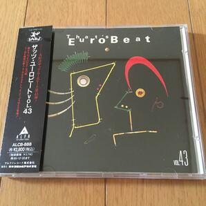 ネコポス送料無料☆匿名発送☆ザッツユーロビート vol.43☆that's Eurobeat vol.43☆アルファALCB888☆帯付☆
