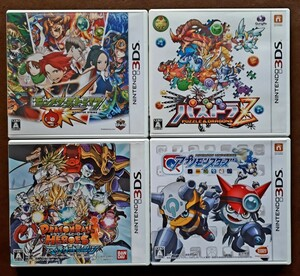 Nintendo3DSソフト 4点セット