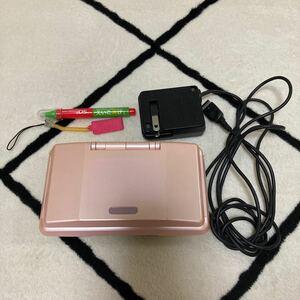 任天堂 DS 本体、充電器、タッチペン