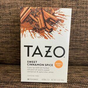 TAZO スイートシナモンスパイス 20袋