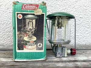【美品】コールマン 5414 シングルマントルランタン Coleman 222ピークワンのプロパンバージョン OD缶使用可 元箱付き 21021110778JN