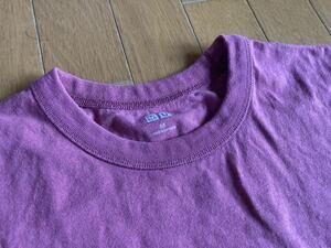 ユニクロ 厚手Tシャツ サイズM 無地Tシャツ ピンク系 patagonia