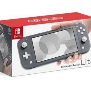 Nintendo Switch Lite グレー ニンテンドースイッチ 本体 任天堂