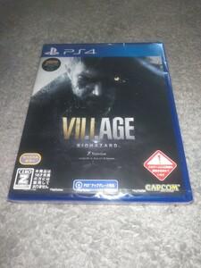 【新品】PS4 BIOHAZARD VILLAGE