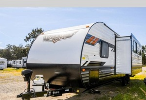 * immediately delivery!2021 year new car forest li bar wild wood T267SSFS sliding out trailer house camping trailer