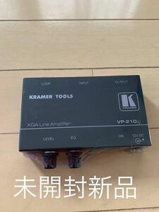 ★激安発送★未開封新品★ KRAMER クレーマ ◆ XGAラインアンプ VP-210XL ◆ アンプ ピーキングコントロール HDTV互換