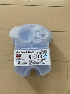 ★未使用品★BRAUN/ブラウン Clean&Renew クリーン&リニュー 洗浄液 カートリッジ 交換用