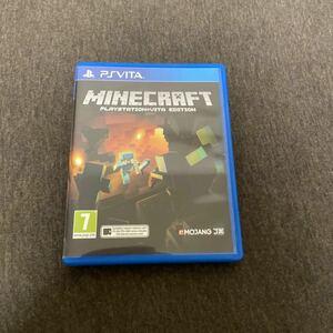 【最終値下げ】マインクラフト英国版 PS Vita ソフト Minecraft