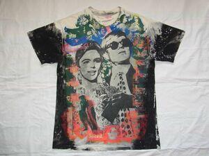 ☆ 80s90s USA製 ビンテージ MOSQUITOHEAD モスキートヘッド Andy Warhol アンディ・ウォーホル Tシャツ sizeL ☆古着 ART ロック 手刷り