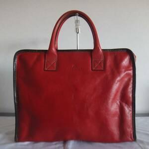 DEUX MONCX デュモンクス 日本製 レザー 本革 ブリーフケース ビジネスバッグ 鞄 バッグ