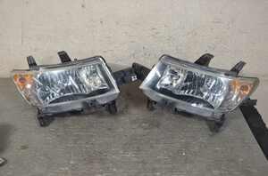 bB Z 前期(QNC21 QNC20) 純正 コイト 動作保証 ヘッドライト バラスト付 HID 左右セット 右 左 B1-2 81110-B1150 81150-B1150 K046696