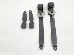 _b61506 アルトラパン ターボ TA-HE21S シートベルト キャッチ バックル セット リア リヤ 左右 R/LH R/RH D26 84905-75H1 HF21S