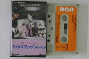 Cassette Rick Springfield Success Hasn't Spoiled Me Yet RPT8127 RCA /00110の商品画像