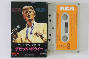 Cassette David Bowie Golden Years RPT8206 RCA /00110の商品画像