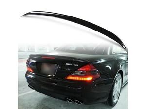 メルセデスベンツ用 SLクラス R230用 ABS製 カーボン調(水圧転写) リアトランクスポイラー Aタイプ