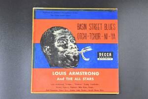 レコード/シングルレコード/LOUIS ARMSTRONG And THE ALL STARS/ルイ・アームストロング・オール・スターズ/グレン・ミラー物語/Jaz/ジャズ
