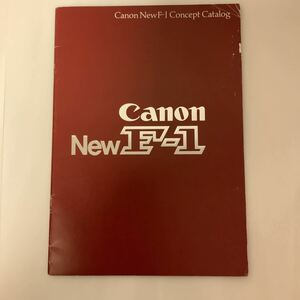 used secondhand goods Canon Canon New F-1 gorgeous . catalog