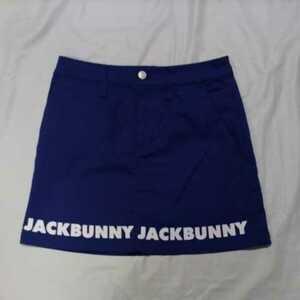 美品正規品 ジャックバニー パーリーゲイツ サイズ1 インナー一体型 クールマックス ロゴ スカート ネイビー 送料無料