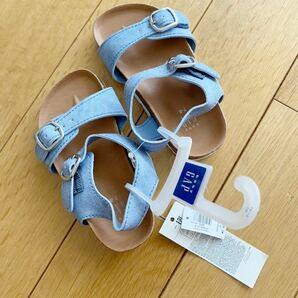 新品 サンダル ベビー 靴 14-15cm 7/8 babygap gap 靴 タグ付き ギャップ シューズ