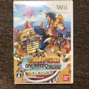 「ワンピース アンリミテッドクルーズ エピソード1 波に揺れる秘宝」Wiiソフト