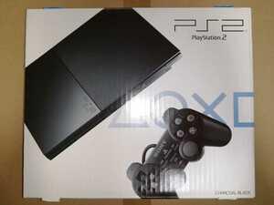 新品 PS2 本体 チャコール・ブラック SCPH-90000CB