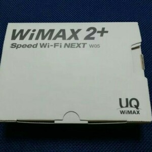 WIMAX2+ SpeedWiFi NEXT W05