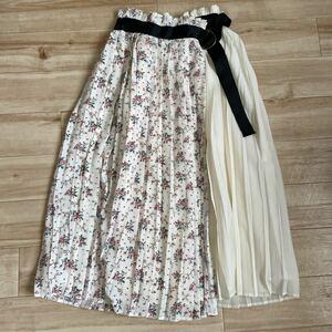ロングスカート 花柄 スカート
