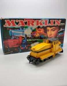 ジャンク [箱付・当時物] MARKLIN メルクリン HOゲージ ディーゼル機関車 鉄道模型 3080 動作未確認
