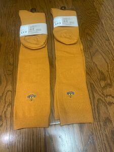 新品ヴィヴィアンウエストウッド 靴下ソックス【2足セット】黄色い