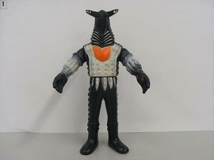1983年製 昭和58年製 ソフビ ベガッサ星人 ウルトラセブン 怪獣 ウルトラマン シリーズ 高さ16cm  BANDAI 円谷プロ JAPAN日本製