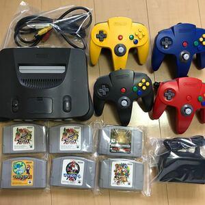 任天堂64 セット!懐かしのゲーム!4人ですぐに遊べます!大特価!