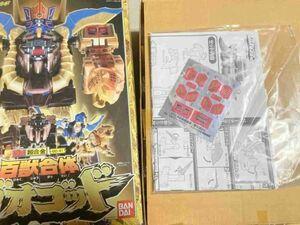 TF玩 26A41 シール未使用 ガオゴッド ロボット 超合金 フィギュア 当時物 DX スーパー戦隊ガオレンジャー