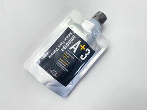 アミノスパA+3ナチュラルペーストシャンプー[Net 100g] フルボ酸 フコイダン 備長炭 育毛 消臭 男女兼用