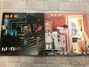 Reoスピードワゴン    【美品】米EPIC原盤LPレコード2枚セット