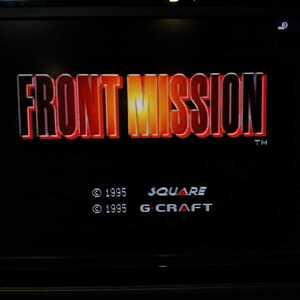 SFC【フロントミッション】1995年スクウェア [送料無料]返金保証あり ※バックアップ機能については商品説明をお読みください。