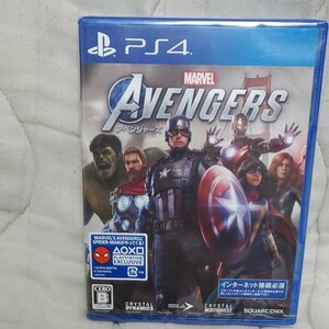 新品未開封【PS4】Marvel's Avengers(アベンジャーズ) ゲームソフト PS4ソフト