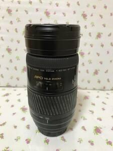ソニーα MINOLTA AF ZOOM 100-400mm f4・5-6・7 APO