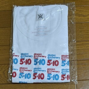 嵐 5×10 Tシャツ