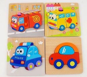 知育玩具 おもちゃ 木製パズル ジグソー マッチング 積み木 形合わせ ジグソー 動物 学習玩具 教育 子供 赤ちゃん