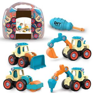 知育玩具 車おもちゃ 工事作業 着手力 男の子 女の子 誕生日 プレゼント 創造力