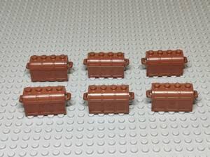 レゴ LEGO 宝箱 茶色 6個 正規品