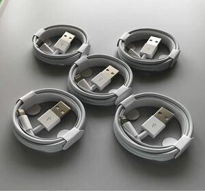 充電器 充電ケーブル ライトニングケーブル iPhone 5点セット